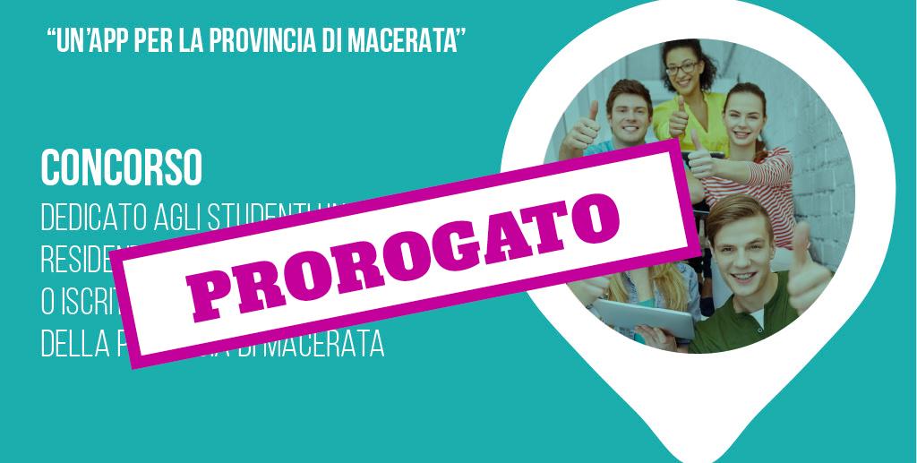 Concorso dedicato agli studenti universitari residenti in provincia di Macerata o iscritti alle università della provincia di Macerata